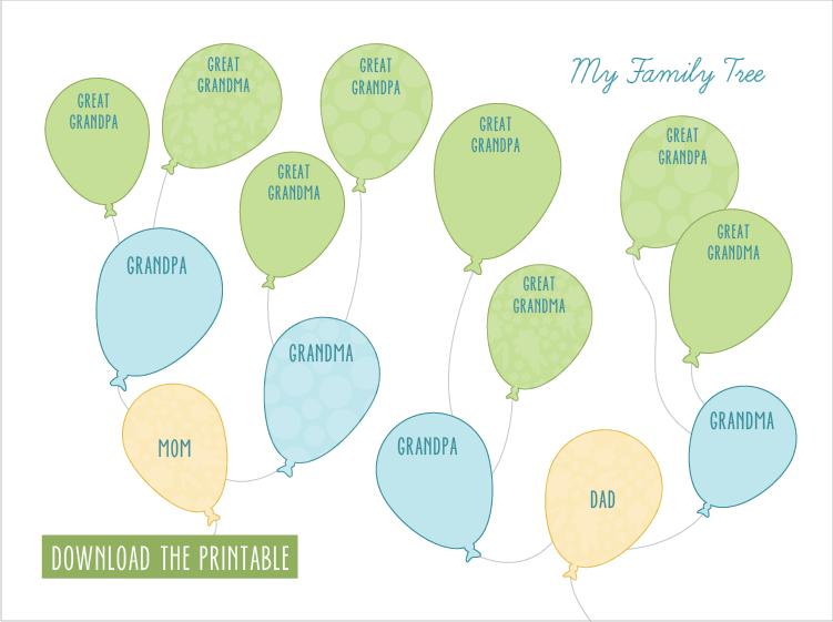 Creative Family Tree Printables