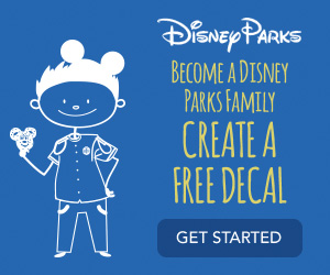Free Disney Parks Family Decals